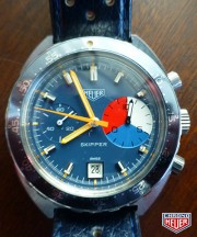 Heuer Skipper 73464 late | manual winding