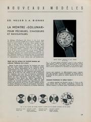 Solunar French Newspaper Ad