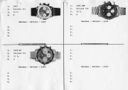 Reference paper from Heuer Factory
