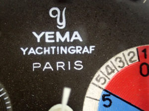 Yachtingraf 2Compax 7730 with PARIS on the dial