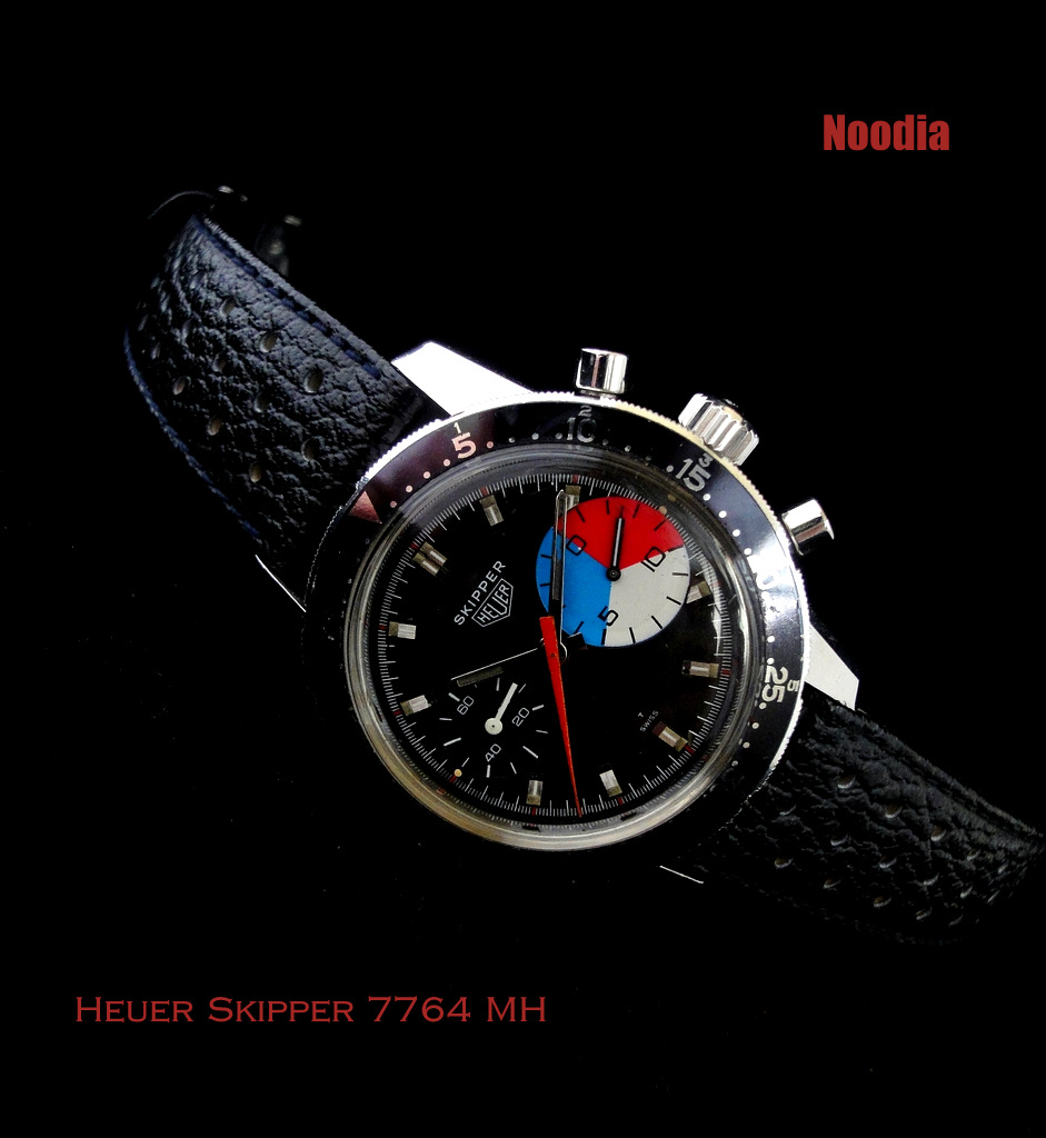 Heuer Skipper 7764 in Autavia 2446 Case credit: noodia