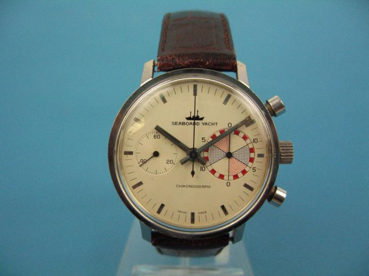 Seaboard Yacht 2nd Edition 2nd hatched subdial - Landeron 248